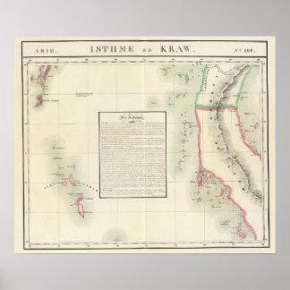 Islas de Andaman, Asia 109 Póster