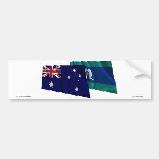 Islas de Australia y del estrecho de Torres que Pegatina Para Auto