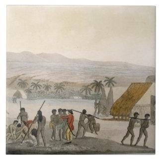 Islas de bocadillo - occidental que negocia para e azulejo cuadrado grande