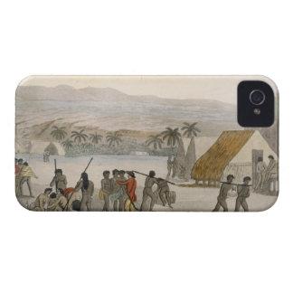Islas de bocadillo - occidental que negocia para iPhone 4 protector
