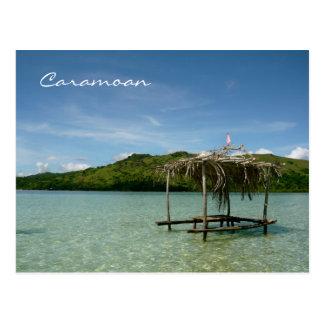 Islas de Caramoan - banco de arena de Manlawi Postal