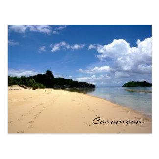 Islas de Caramoan - lado trasero de Sabitang Laya Postales