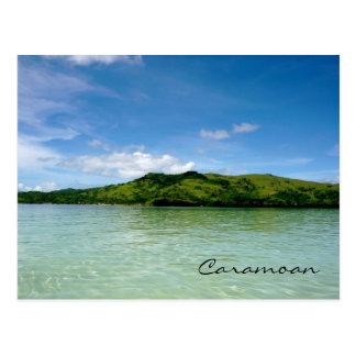 Islas de Caramoan - opinión del banco de arena de Tarjetas Postales