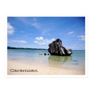 Islas de Caramoan - roca de Sabitang Laya Tarjetas Postales