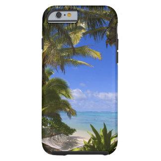 Islas de cocinero alineadas palma de la playa 2 funda de iPhone 6 tough