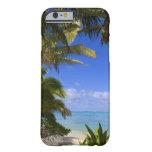 Islas de cocinero alineadas palma de la playa 2 funda barely there iPhone 6