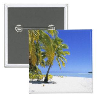 Islas de cocinero alineadas palma de la playa 3 pins