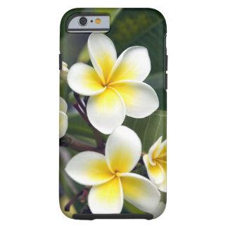 Islas de cocinero de la flor del Frangipani Funda De iPhone 6 Tough