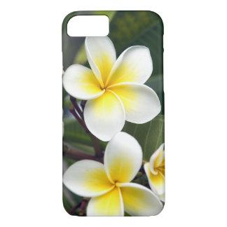 Islas de cocinero de la flor del Frangipani Funda iPhone 7