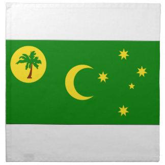 Islas de Cocos Servilleta Imprimida