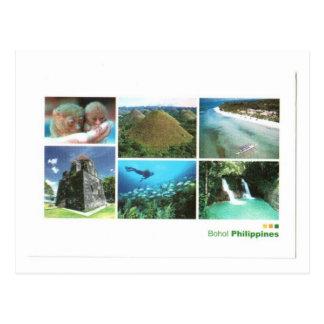 ISLAS DE FILIPINAS BOHOL TARJETAS POSTALES