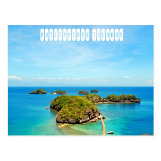 Islas de Filipinas Tarjetas Postales