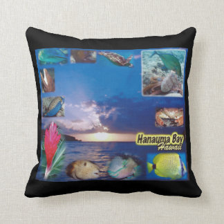 Islas de Hawaii de la bahía de Hanauma de la Cojín