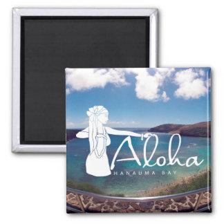 Islas de Hawaii de la hawaiana - bailarín de Hula Imanes
