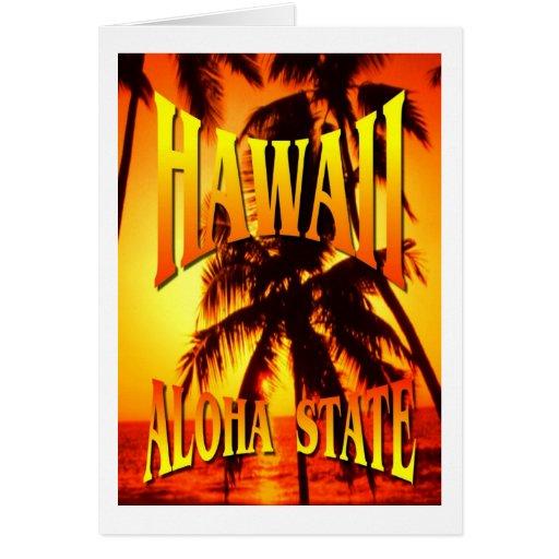 Islas de Hawaii Felicitaciones
