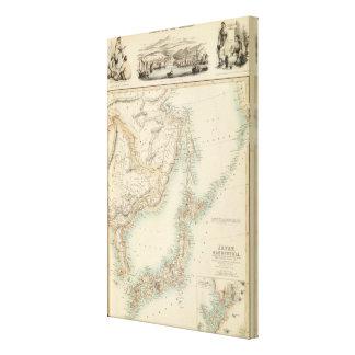 Islas de Japón Lona Estirada Galerías