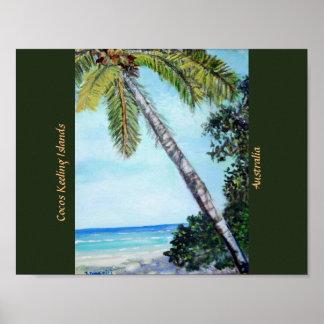 Islas de Keeling de los Cocos - poster
