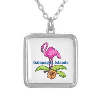 Islas de las Islas Galápagos Colgante Cuadrado