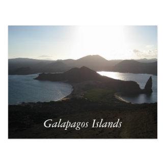 Islas de las Islas Galápagos Postal