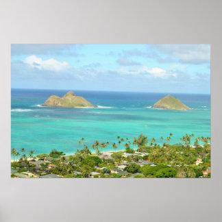 Islas de Mokulua Impresiones