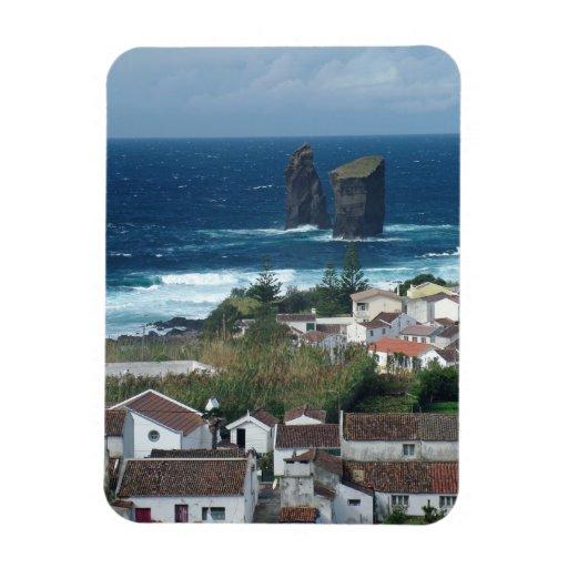 Islas de Mosteiros - de Azores Iman De Vinilo