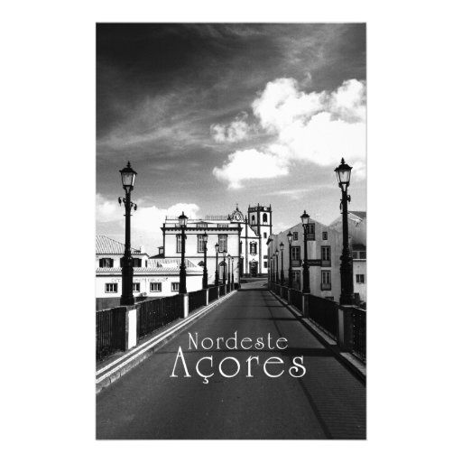 Islas de Nordeste - de Azores Personalized Stationery
