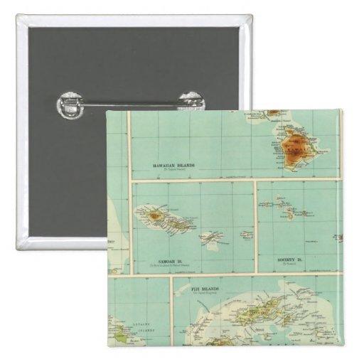 Islas de Oceanía Pin