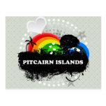 Islas de Pitcairn con sabor a fruta lindas Postal