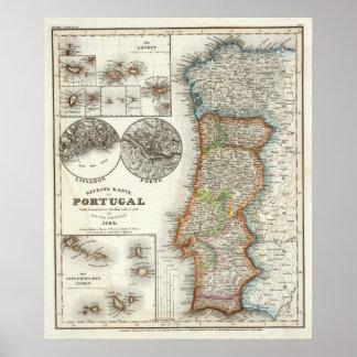 Islas de Portugal y de Cabo Verde Póster