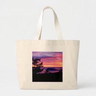 Islas de San Juan de la puesta del sol en Puget So Bolsas
