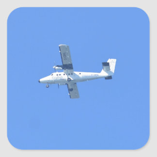 Islas de Scilly Skybus Pegatina Cuadrada