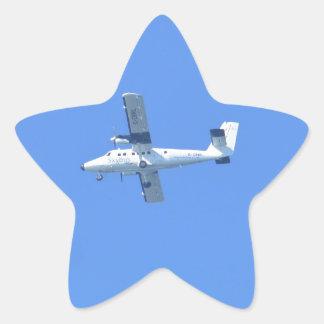 Islas de Scilly Skybus Pegatina En Forma De Estrella