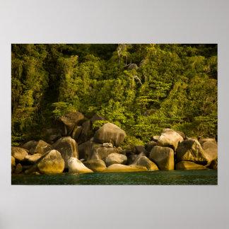 Islas de Similan, parque nacional marino cerca Póster