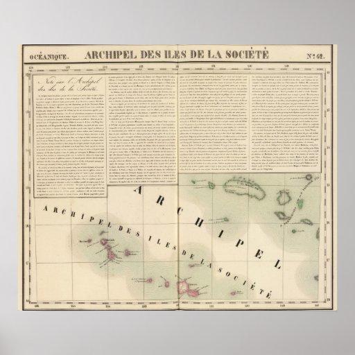 Islas de sociedad Oceanía ningunos 42 Posters