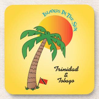 Islas de Trinidad and Tobago en The Sun Posavasos De Bebida