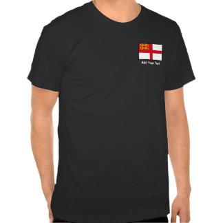 Islas del Canal - bandera de Sark Camiseta
