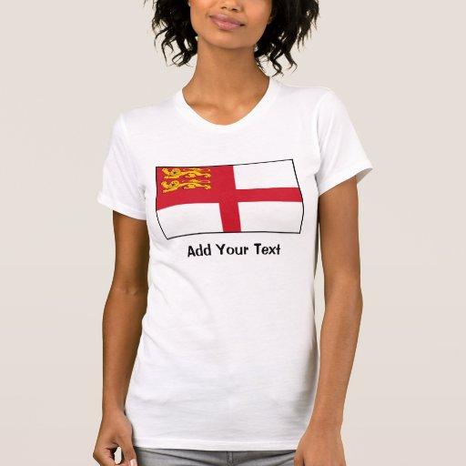 Islas del Canal - bandera de Sark T Shirts