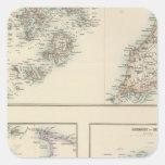 Islas del Canal, islas de Scilly, e isla del Pegatina Cuadrada