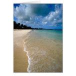 Islas del Caribe, de sotavento, Antigua, Dickenson Tarjeta De Felicitación