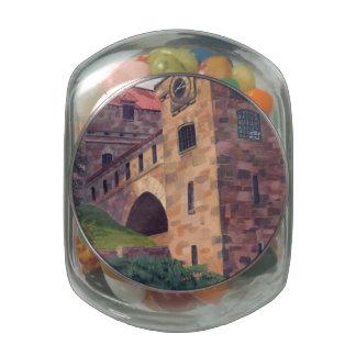 Islas del castillo 1000 del cantante frascos de cristal