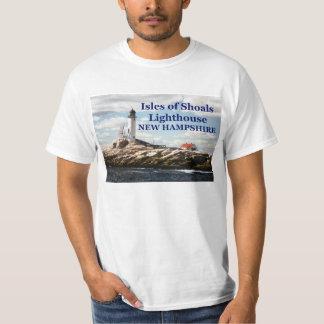 Islas del faro de los bajíos, camiseta de New