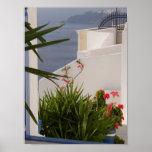 Islas del Griego de Santorini Impresiones