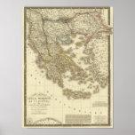 Islas del Griego moderno, Albania, Macedonia Poster