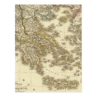 Islas del Griego moderno, Albania, Macedonia Postales