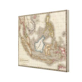 Islas del indio impresion de lienzo