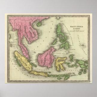 Islas del indio póster