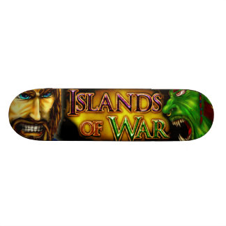 """Islas del monopatín de la guerra patineta 7 1/8"""""""