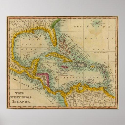 Islas del oeste 2 de la India Póster