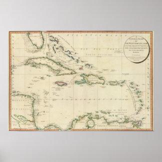 Islas del oeste 3 de la India Posters