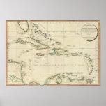 Islas del oeste 3 de la India Póster